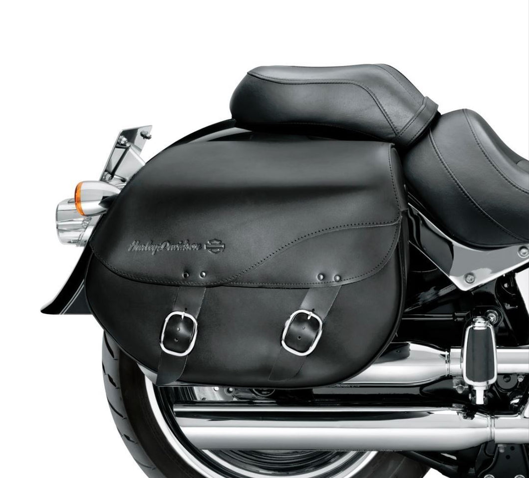 Harley-Davidson® Detachables™ Leather Saddlebags - Smooth - 90200616A