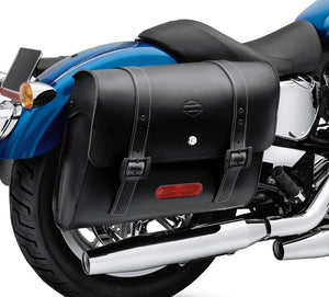 Harley-Davidson® Detachables™ Locking Leather Saddlebags - 90201328