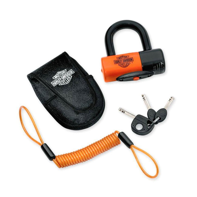 Harley-Davidson® Shackle Lock Kit Motorcycle Locks