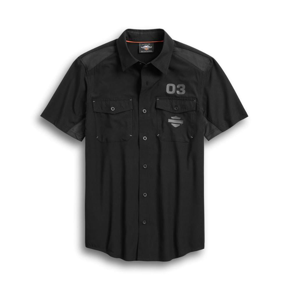 Harley-Davidson® Men's Performance Ripstop & Mesh Shirt
