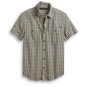 Harley-Davidson® Men's Chain Stitched Plaid Shirt
