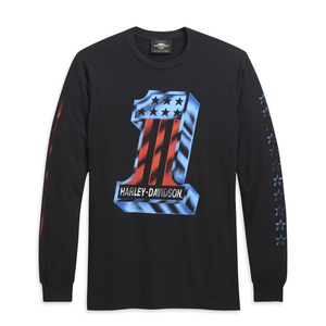 Harley-Davidson® Bars & Stars Long Sleeve Tee