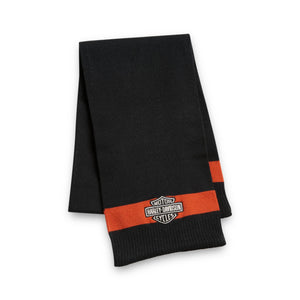 Harley-Davidson® Bar & Shield Knit Scarf