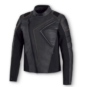 Harley-Davidson® Mens Watt Leather Jacket Riding Jackets