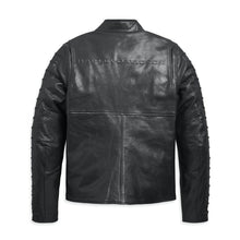 Harley-Davidson® Mens Ozello Perforated Leather Jacket Riding Jackets