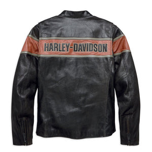Harley-Davidson® Mens Victory Lane Leather Jacket - 98027-18Em Riding Jackets