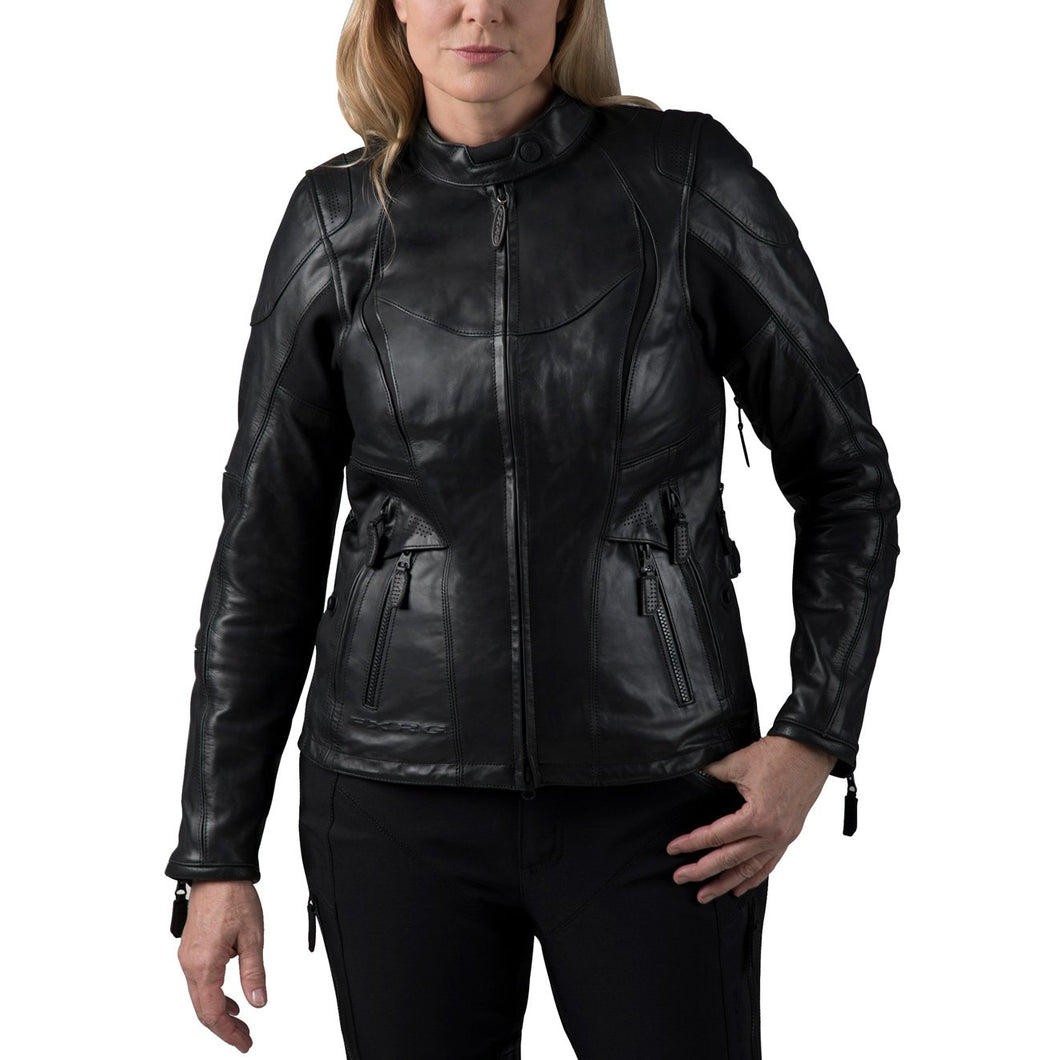 Harley-Davidson® Womens Fxrg Triple Vent System Waterproof Leather Jacket - 98039-19Ew Riding