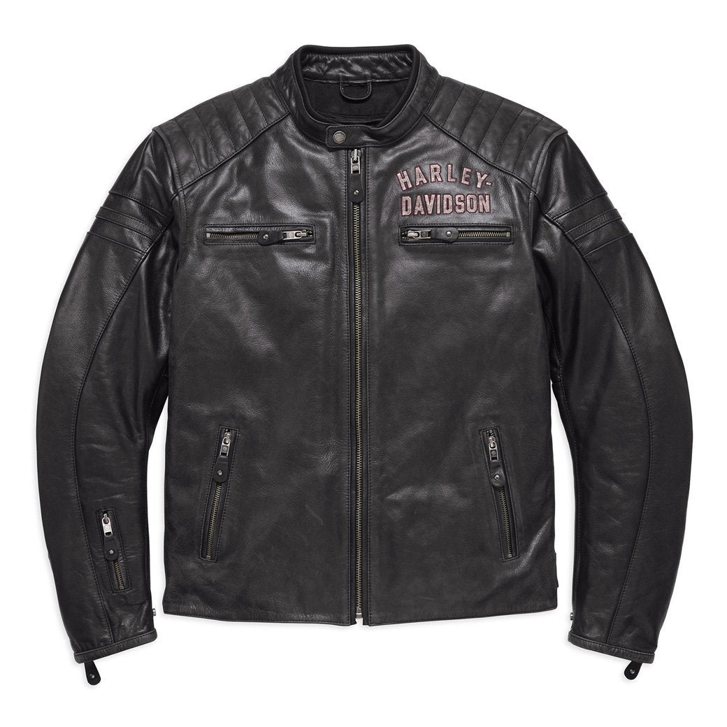 Harley-Davidson® Mens #1 Genuine Classics Leather Jacket - 98121-17Em Riding Jackets