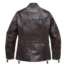 Harley-Davidson® Womens Messenger 3/4 Leather Jacket - 98129-17Ew Riding Jackets