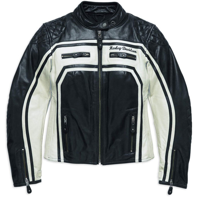 Harley-Davidson® Womens Relay Leather Jacket - 98130-17Ew Riding Jackets