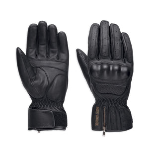 Harley-Davidson® Mens Blackout Gloves - 98179-18Em