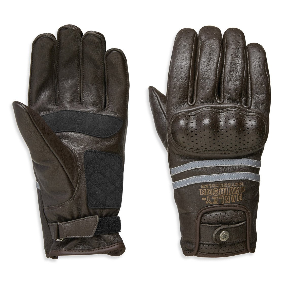 Harley-Davidson® Mens Freesmont Full-Finger Gloves - 98274-19Em
