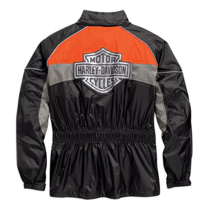 Harley-Davidson® Mens High Tail Colorblocked Hi-Vis Rain Suit - 98337-15Vm Raining Gear