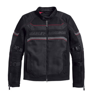Harley-Davidson® Mens Fxrg Mesh Slim Fit Riding Jacket - 98389-19Em Jackets