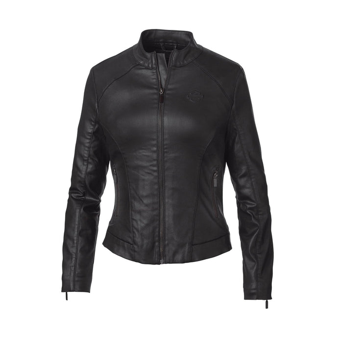 Harley-Davidson® Womens Wing Back Coated Jacket - 98402-19Vw Casual Jackets