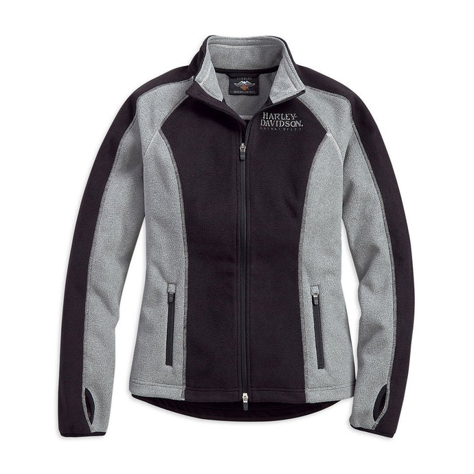 Harley-Davidson® Womens Skull Windproof Fleece Jacket - 98407-19Vw Casual Jackets