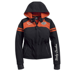 Harley-Davidson® Womens Miss Enthusiast Soft Shell Jacket - 98408-19Vw Casual Jackets