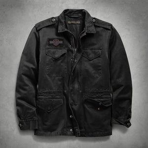 Harley-Davidson® Mens Logo Slim Fit Field Jacket - 98594-19Vm Casual Jackets