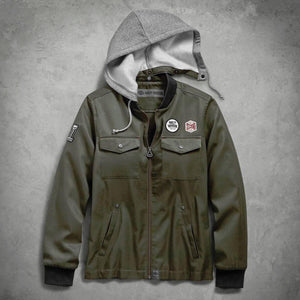 Harley-Davidson® Womens Hooded Bomber Jacket - 98597-19Vw Casual Jackets
