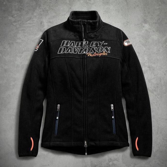 Harley-Davidson® Womens H-D® Racing Fleece Jacket - 98598-19Vw Casual Jackets