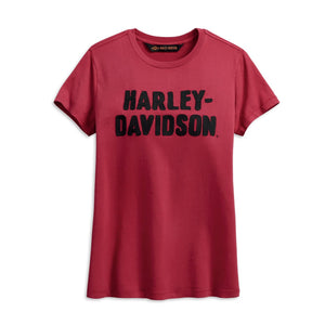 Harley-Davidson® Womens Chain Stitched Tee - 99002-19Vw T-Shirts