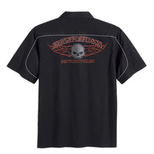 Harley-Davidson® Mens Burning Skull Garage Shirt - 99004-16Vm Shirts