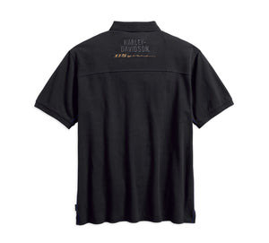 Harley-Davidson® Mens 115Th Anniversary Polo With Coldblack® Technology - 99015-18Vm Shirts