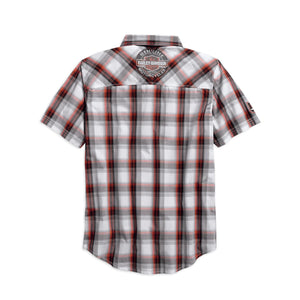 Harley-Davidson® Mens Genuine Oil Can Plaid Shirt - 99067-18Vm Shirts