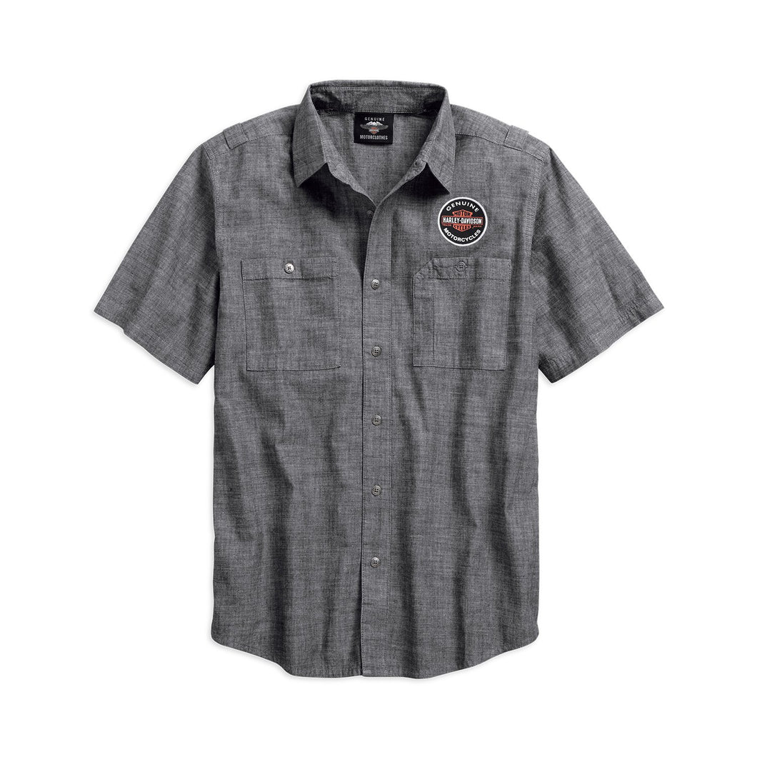 Harley-Davidson® Mens Genuine Oil Can Shirt - 99068-18Vm Shirts