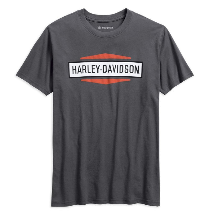 Harley-Davidson® Mens Stacked Graphic Slim Fit Tee - 99078-18Vm T-Shirts