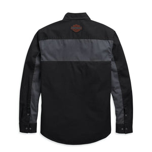 Harley-Davidson® Mens Copperblock Long Sleeve Shirt Shirts
