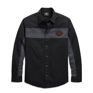 Harley-Davidson® Men's Copperblock Long Sleeve Shirt