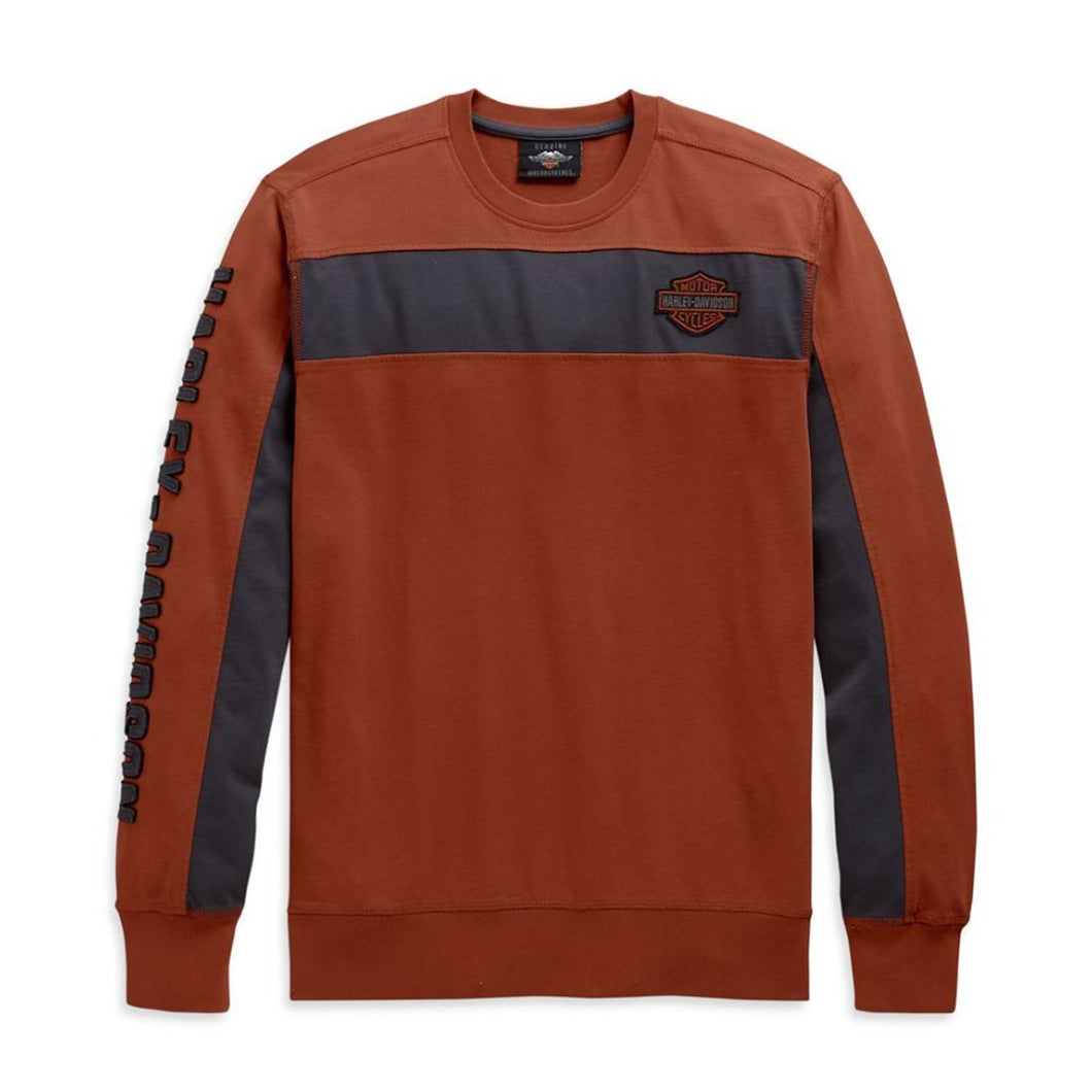 Harley-Davidson® Men's Copperblock Long Sleeve Tee