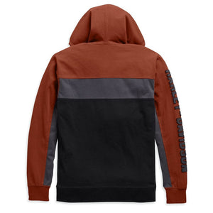 Harley-Davidson® Mens Copperblock Hoodie Hoodies