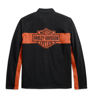 Harley-Davidson® Mens Chest Stripe Activewear Jacket Casual Jackets