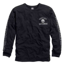 Harley-Davidson® Mens Skull Long Sleeve Tee Black - 99091-14Vm Tees