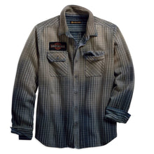 Harley-Davidson® Mens 1903 Schematic Plaid Slim Fit Long Sleeve Shirt - 99097-18Vm Shirts