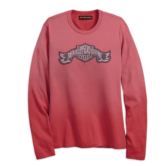 Harley-Davidson® Womens Jersey Appliqu?® Tee - 99100-18Vw Long Sleeve Tees