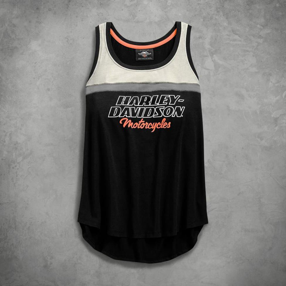 Harley-Davidson® Womens H-D® Racing Tank - 99135-19Vw Tops