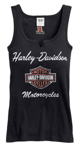 Harley-Davidson® Womens Classic Notch Neck Tank - 99140-17Vw Tops