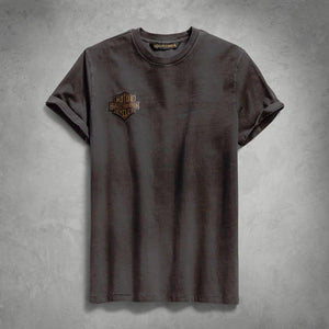 Harley-Davidson® Mens Winged Logo Slim Fit Tee - 99140-19Vm T-Shirts