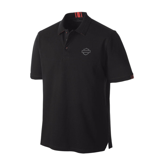Harley-Davidson® Mens Stretch Piqu?® Slim Fit Polo - 99148-19Vm Shirts