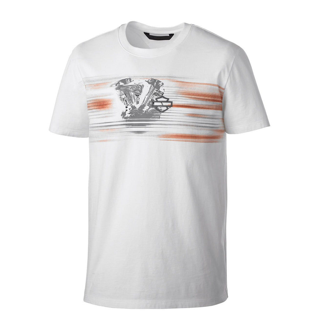 Harley-Davidson® Mens Layered Print Slim Fit Tee - 99152-19Vm T-Shirts