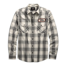 Harley-Davidson® Mens H-D Racing Long Sleeve Plaid Shirt - 99162-19Vm Shirts