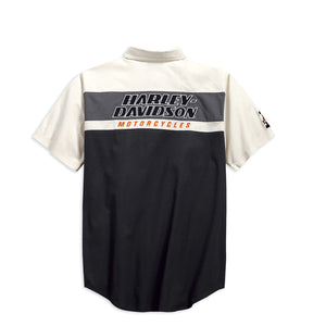 Harley-Davidson® Mens H-D Racing Colorblock Shirt - 99166-19Vm Shirts