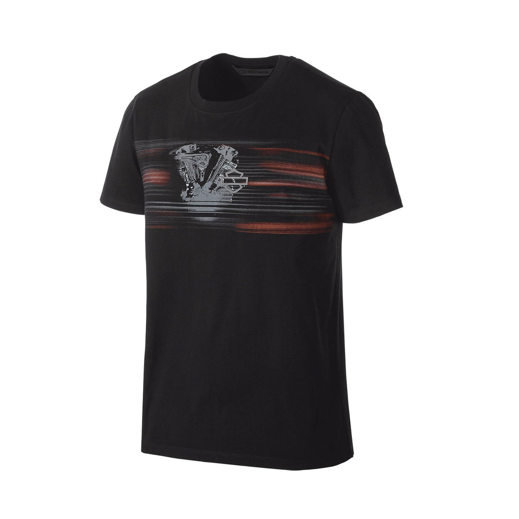 Harley-Davidson® Mens Layered Print Slim Fit Tee - 99173-19Vm T-Shirts