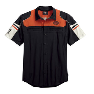 Harley-Davidson® Mens Performance Colorblock Shirt With Coolcoretechnology - 99189-19Vm Shirts