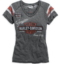Harley-Davidson® Womens Genuine Oil Can Burnout Tee - 99196-14Vw T-Shirts