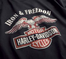 Harley-Davidson® Mens Iron & Freedom Slim Fit Tee - 99200-19Vm T-Shirts
