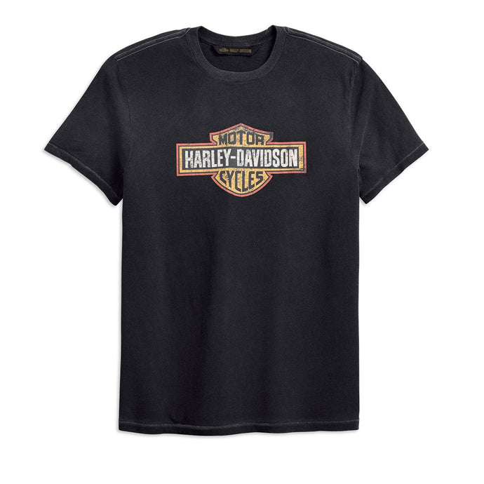 Harley-Davidson® Mens Crackle Logo Slim Fit Tee - 99201-19Vm T-Shirts